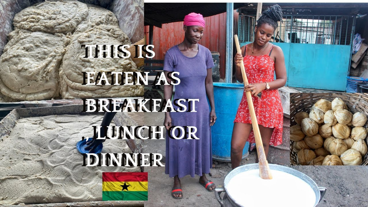 A VERY POPULAR TRADITIONAL GHANAIAN STREET FOOD | WEST AFRICAN