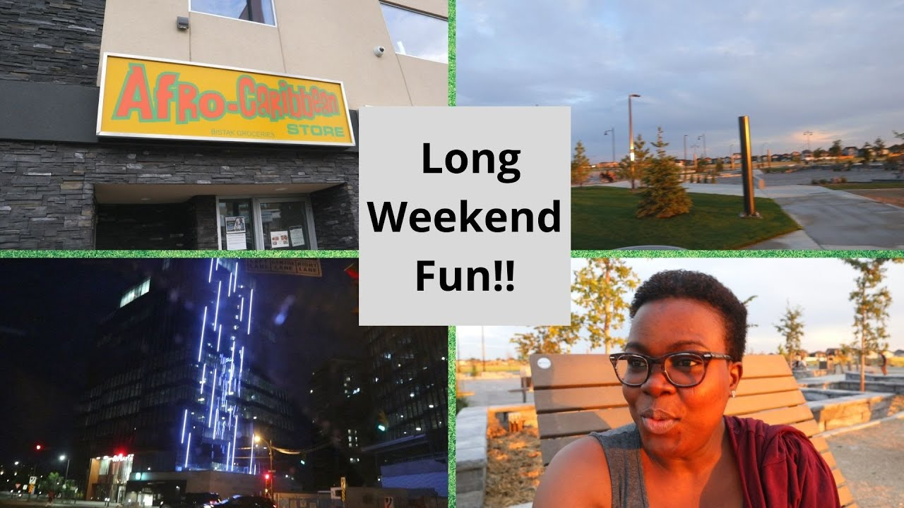 AFRICAN GROCERY HAUL + NIGHT TIME IN SASKATOON | The