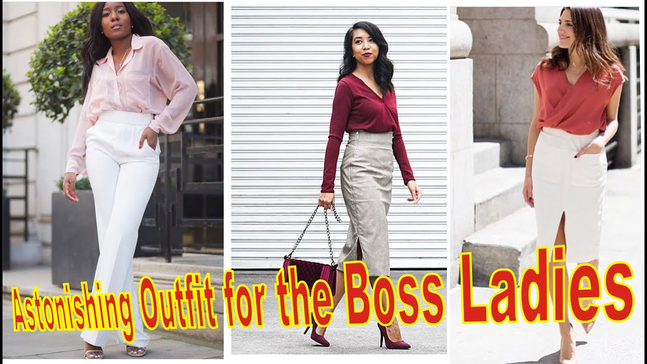 ASTONISHING OFFICE OUTFIT FOR BOSS LADIES