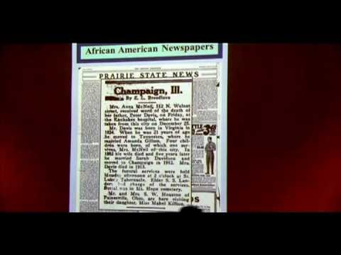 African American Newspapers in Genealogical Research