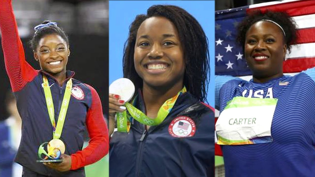 African-American Women Make Olympic History by Winning Gold in Swimming,