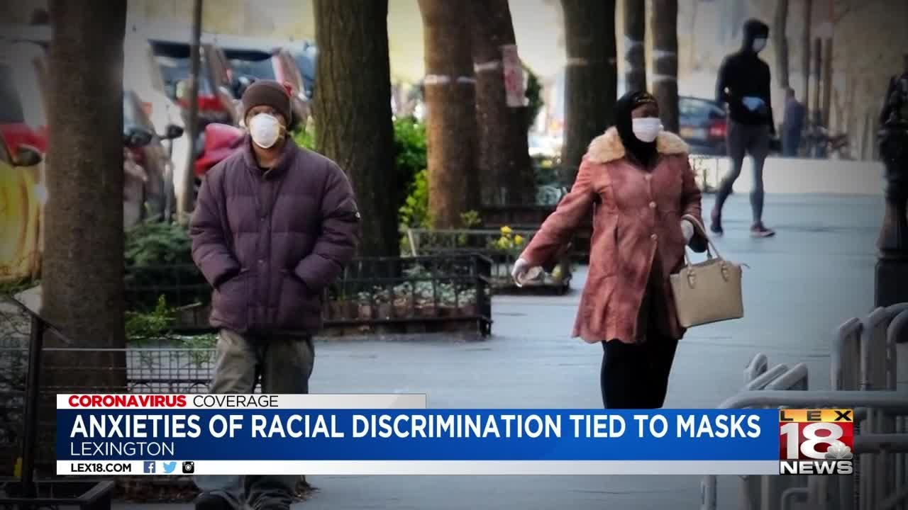 African-American community concerned of racial profiling as masks become requirement