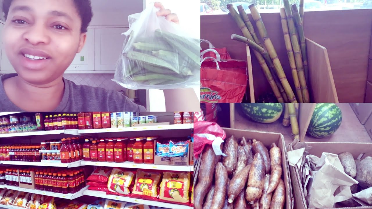 African Food Market Shopping – African Food Market Runs –