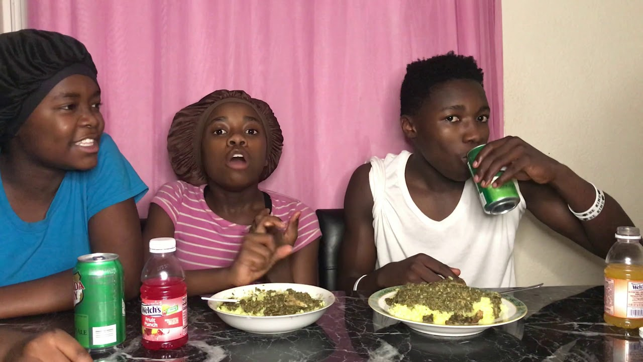 African Food Mukbang With My SISTERS!! (Part 1/3)