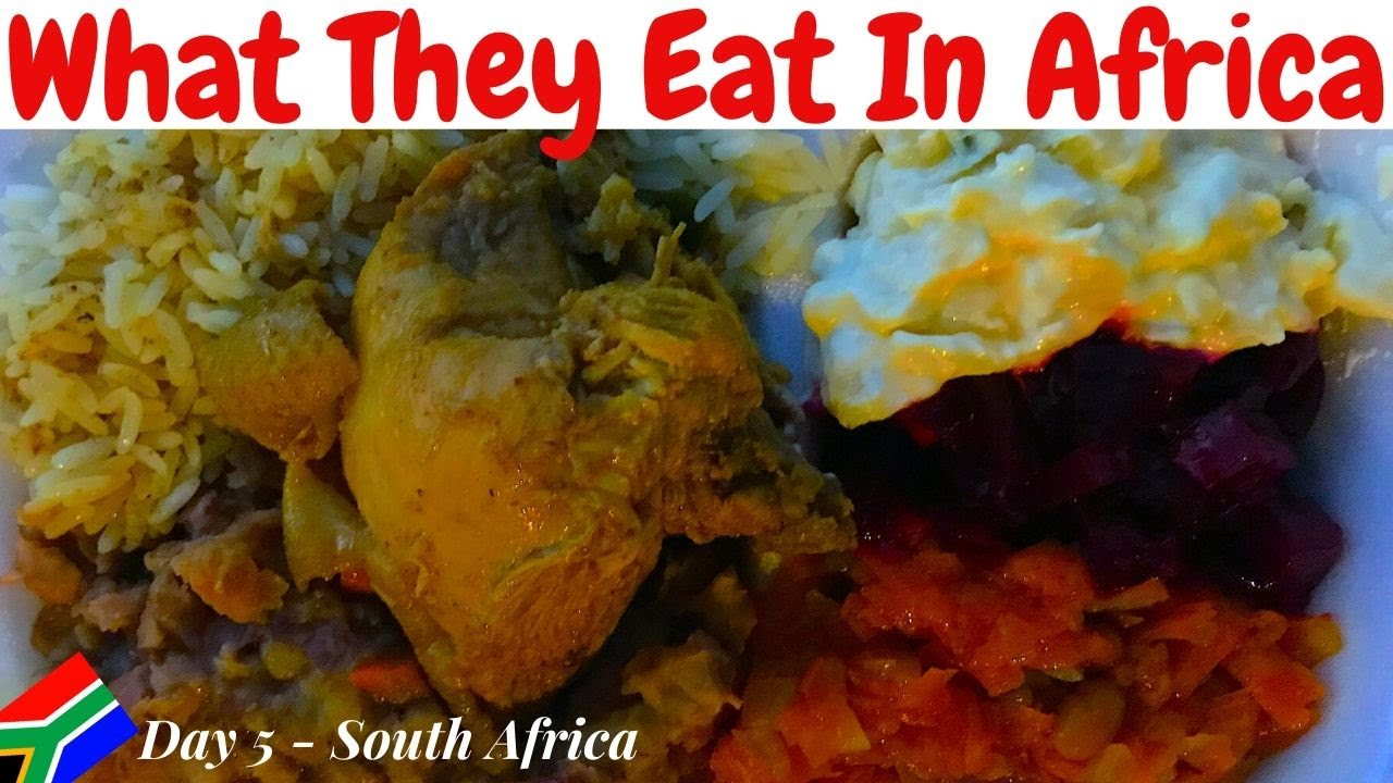 African Food Vlog | What They Eat In Africa |