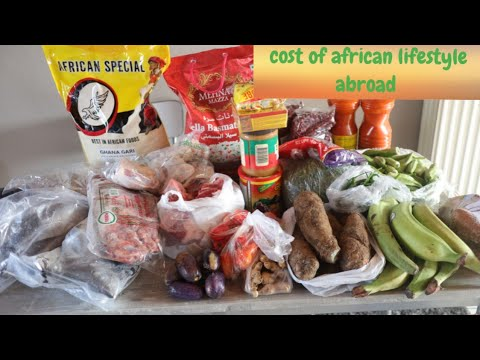 African food haul | African lifstyle abroad.