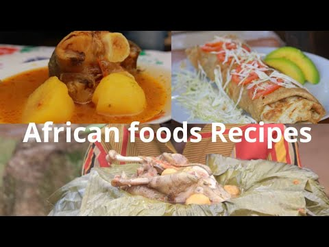 African food recipes-African food