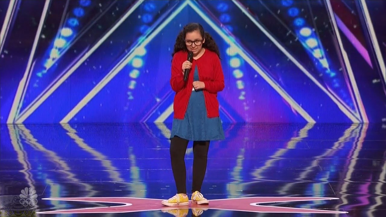 America's Got Talent 2016 13 Y.O. Girl Stand Up Comedian