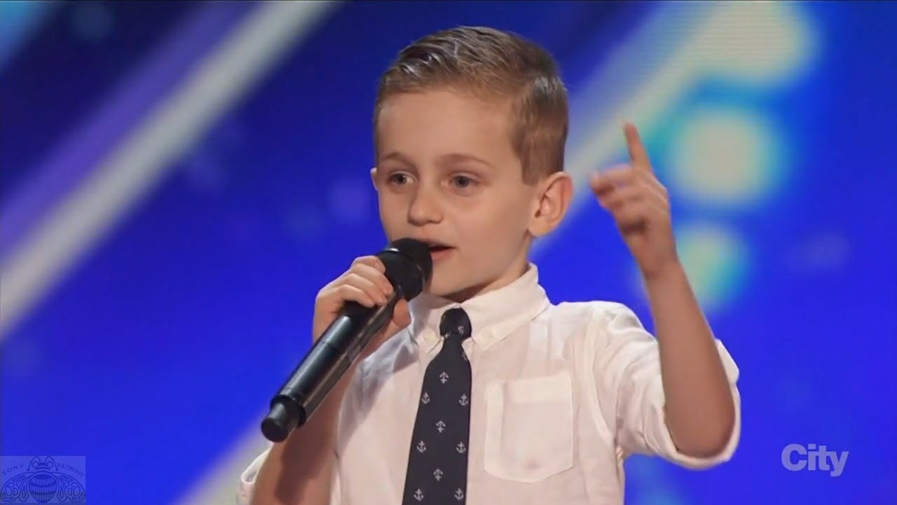 America's Got Talent 2016 Nathan Bockstahler 6 Year Old Stand-up