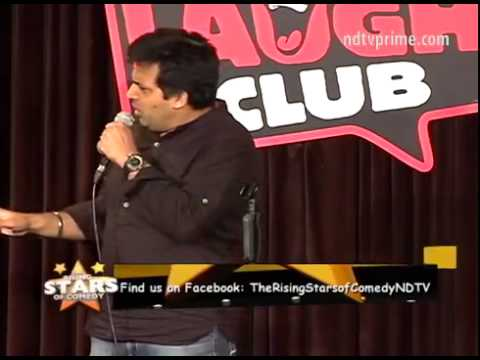 Amit Tandon – stand up comedian.- for show bookings –