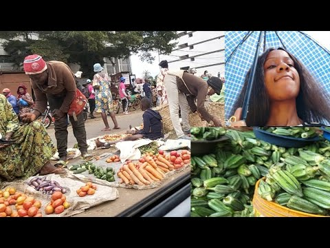An African food market today, getting tins 2 cook plan