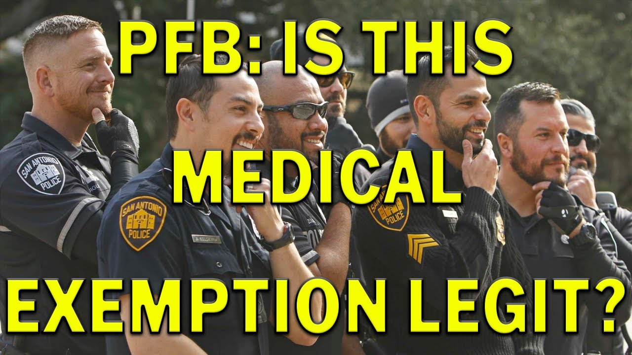 Are African American Officers Claiming Medical Exemption For PFB? –