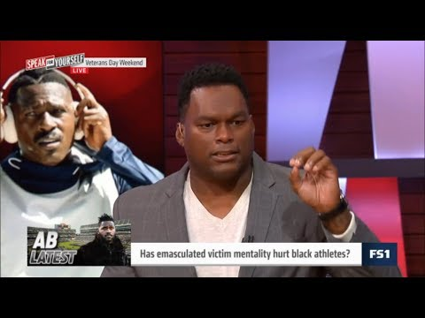 Arrington INTRIGUED Has emasculated victim mentality hurt black athletes? |
