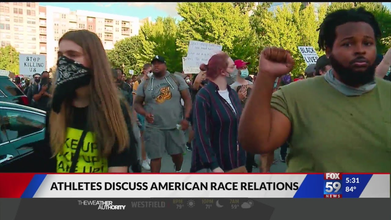 Athletes share thoughts on Black Lives Matter movement