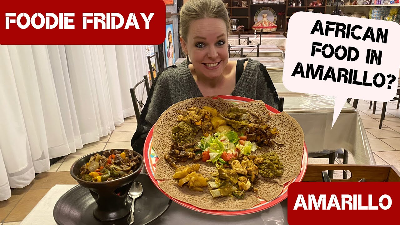 Authentic African food in Amarillo at Marhaba International!! Foodie Friday