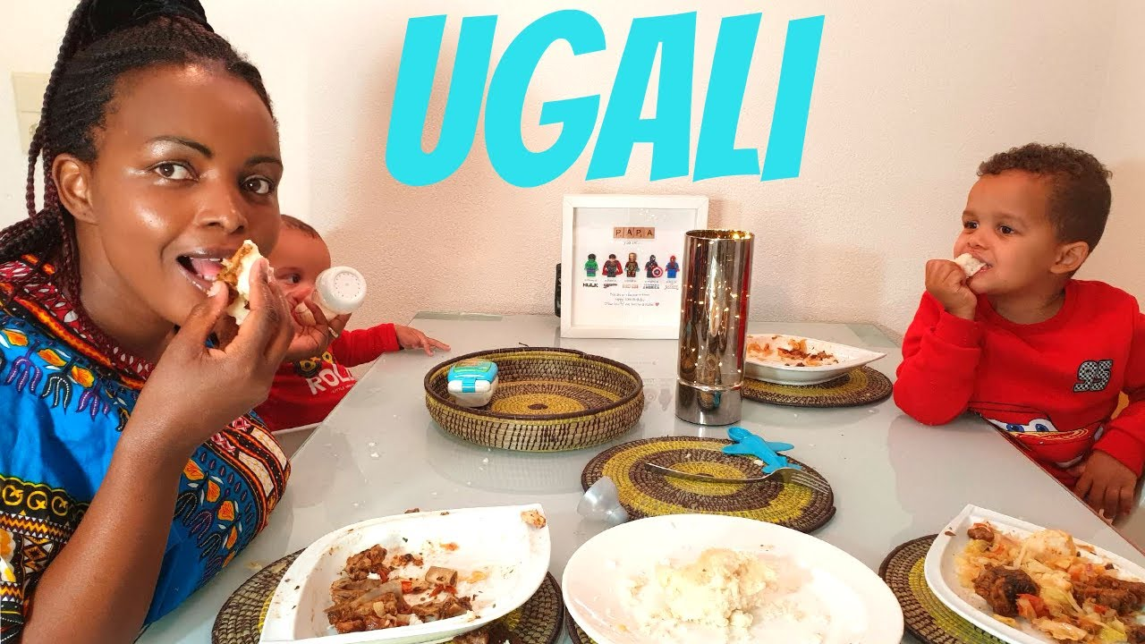 BEST AFRICAN FOOD EVER: UGALI. First time my 8 months