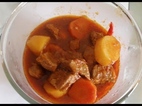 Beef Stew Recipe – African food recipe