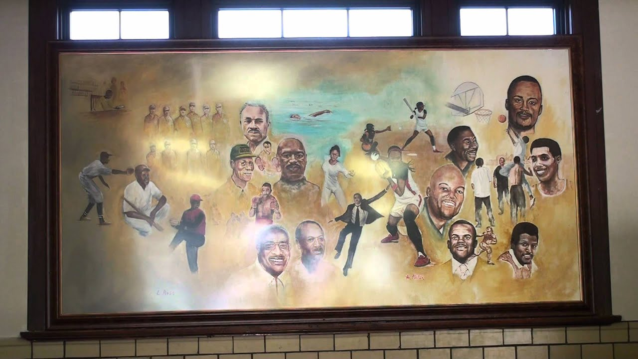 Berston video of Ross and Foster mural of greater Black