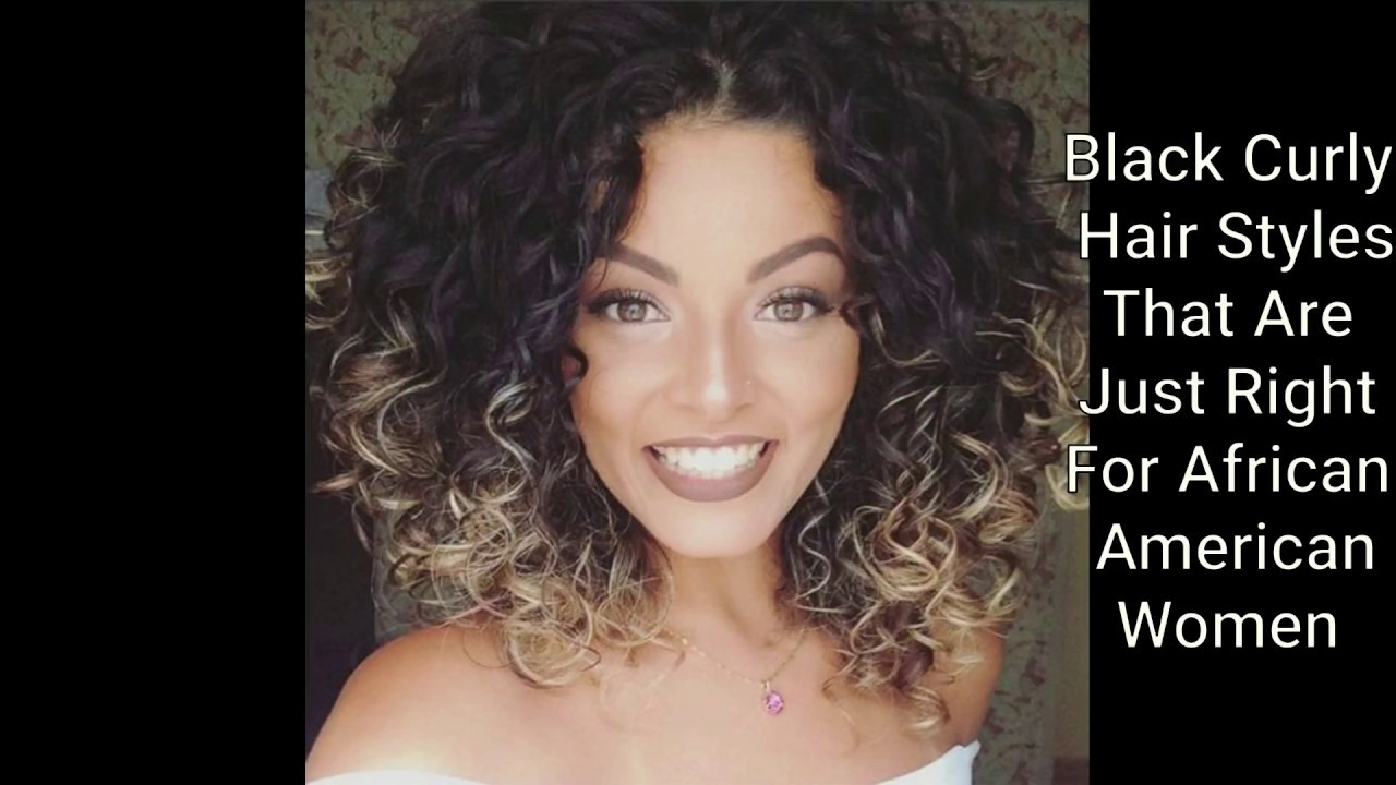 Best Black Curly Hair Styles For Afro American Women 2017