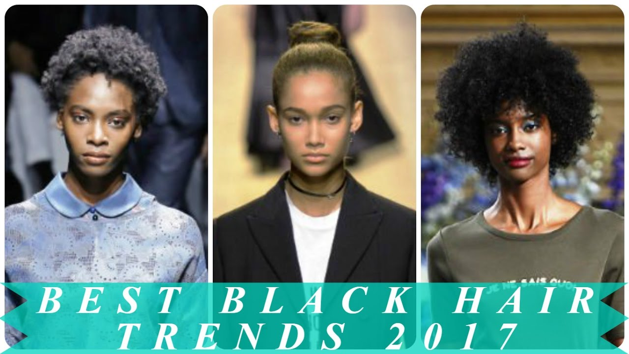 Best black hair trends 2017
