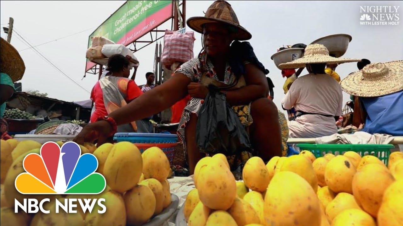 Black Americans Explore African Roots In Ghana | NBC Nightly