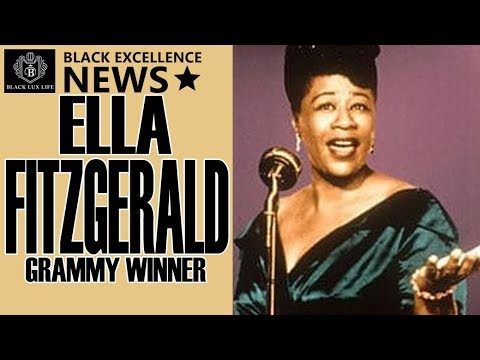 Black Excellist News: Ella Fitzgerald – 1st African American Female