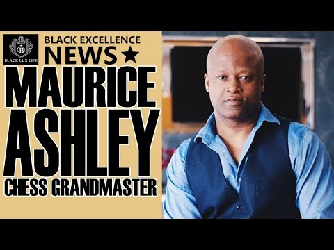 Black Excellist News: Maurice Ashley – 1st African American Chess