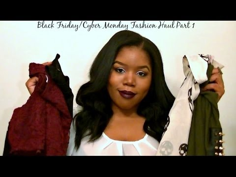 Black Friday & Cyber Monday Fashion Haul Part 1