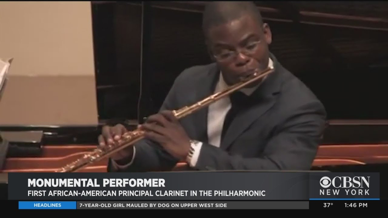 Black History Month: Anthony McGill, First African-American Principal Clarinet At