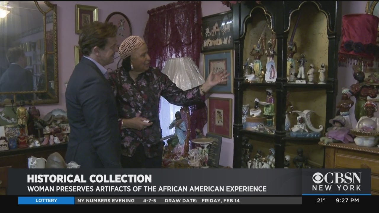 Black History Month: Woman Preserves Artifacts Of The African-American Experience