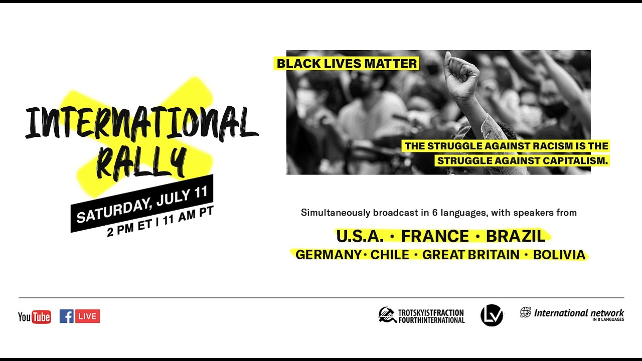 Black Lives Matter: An International Rally