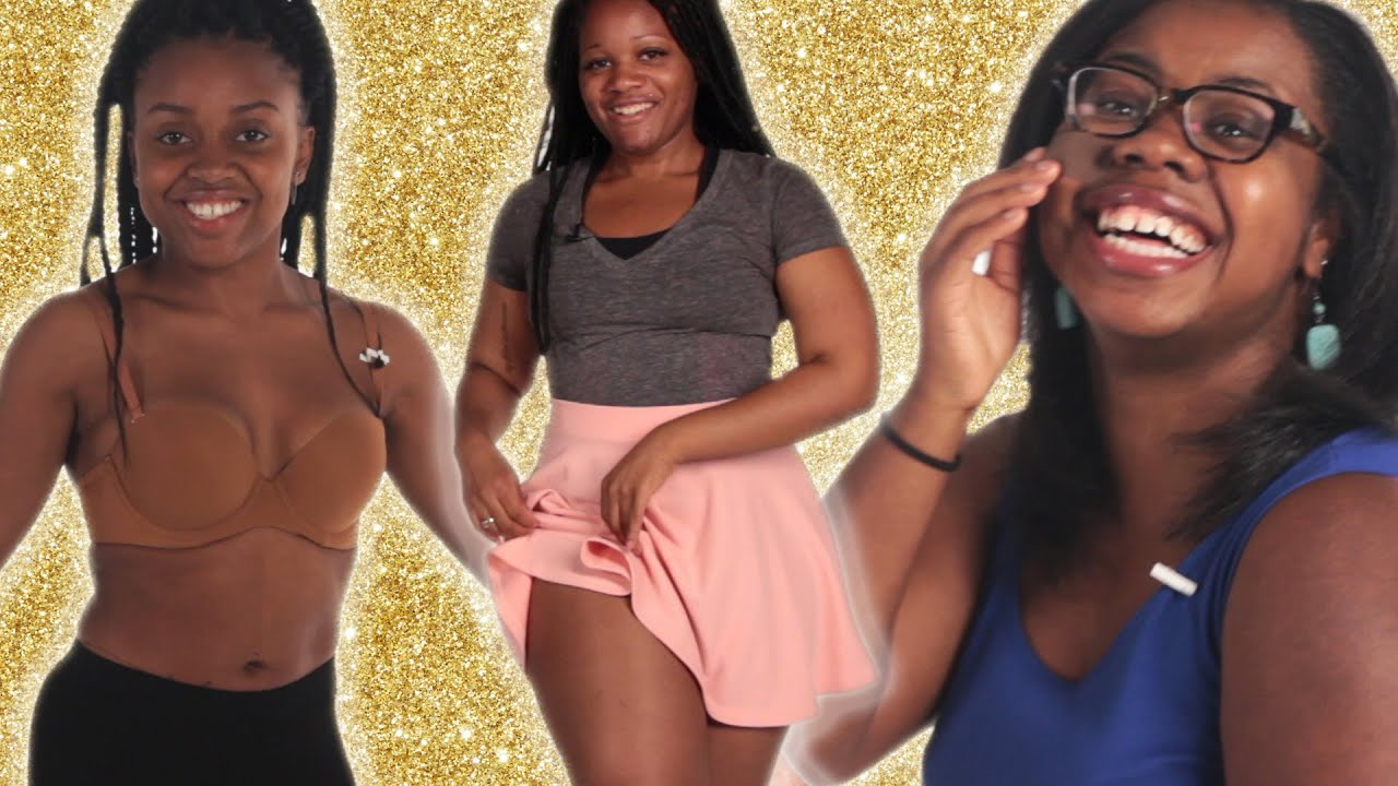 Black Women Try Nude Fashion Part 2