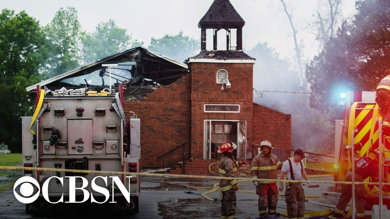 Black church fires in Louisiana: Officials give update after arresting