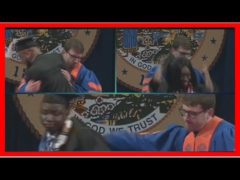 Breaking News | Video: University apologizes after African-American grads were
