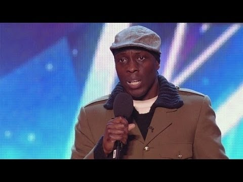 Britain's Got Talent S08E07 Toju Stand-up Comedian gets Ant and