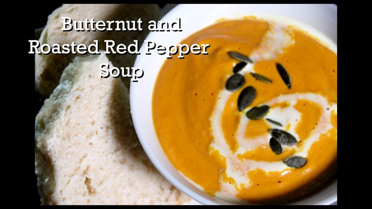 Butternut and Roasted Red Pepper Soup | South African Food