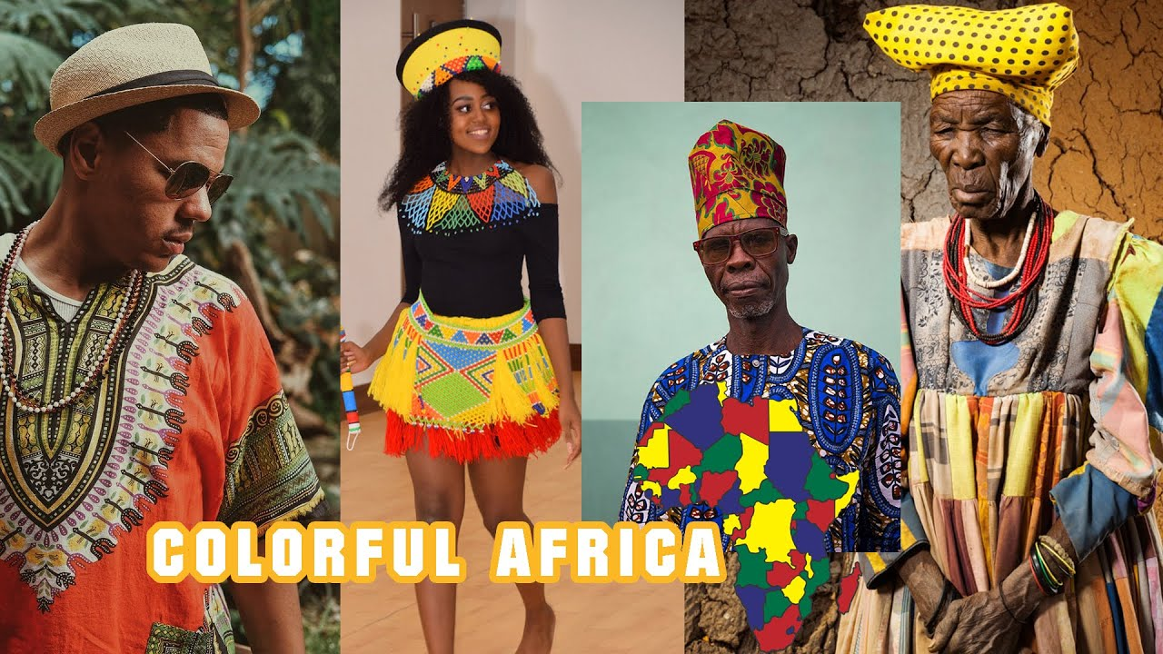 #COLORFUL AFRICA | African Cultural Wear TRENDS Today