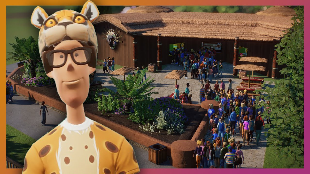 Cheetah Challenge Complete & African Food Court | Planet Zoo