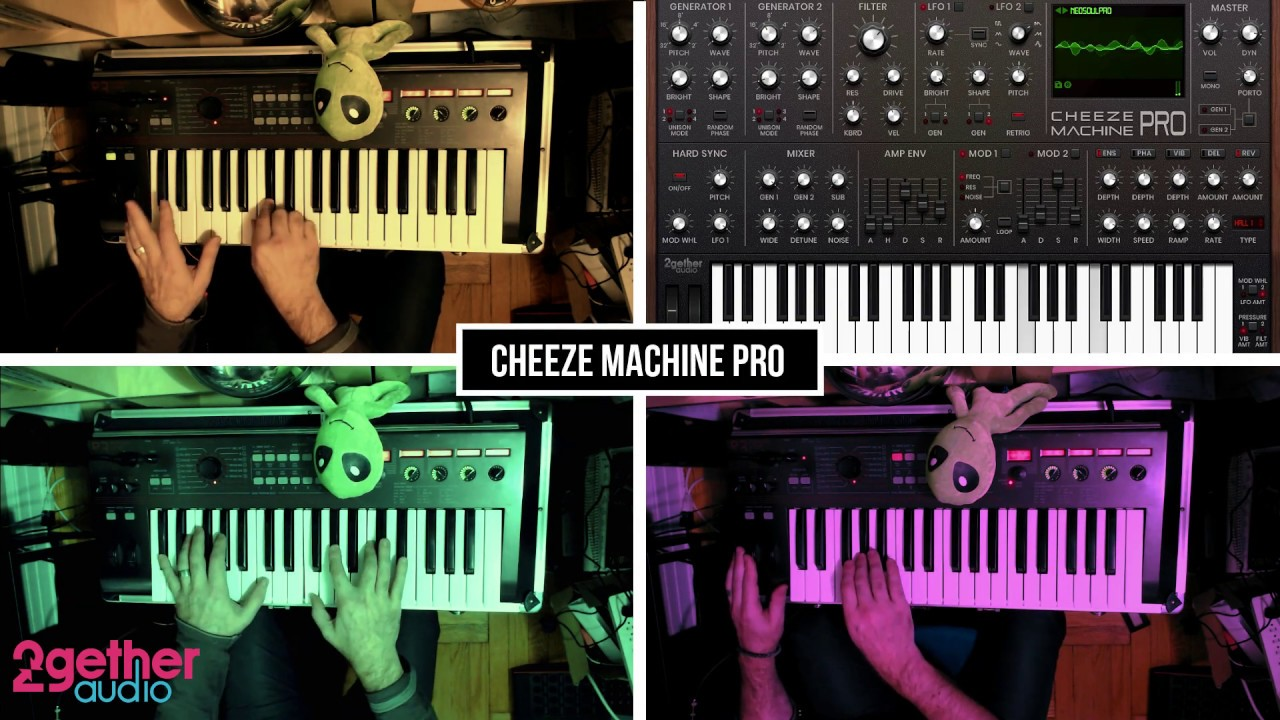 Cheeze Machine PRO – Neo Soul Synth Jam