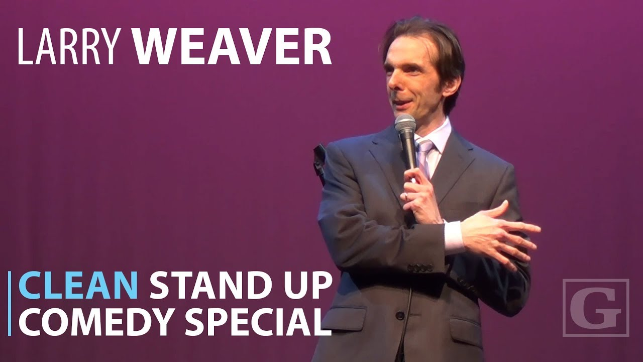 Clean Comedy Full Special – Stand-up Comedian Larry Weaver