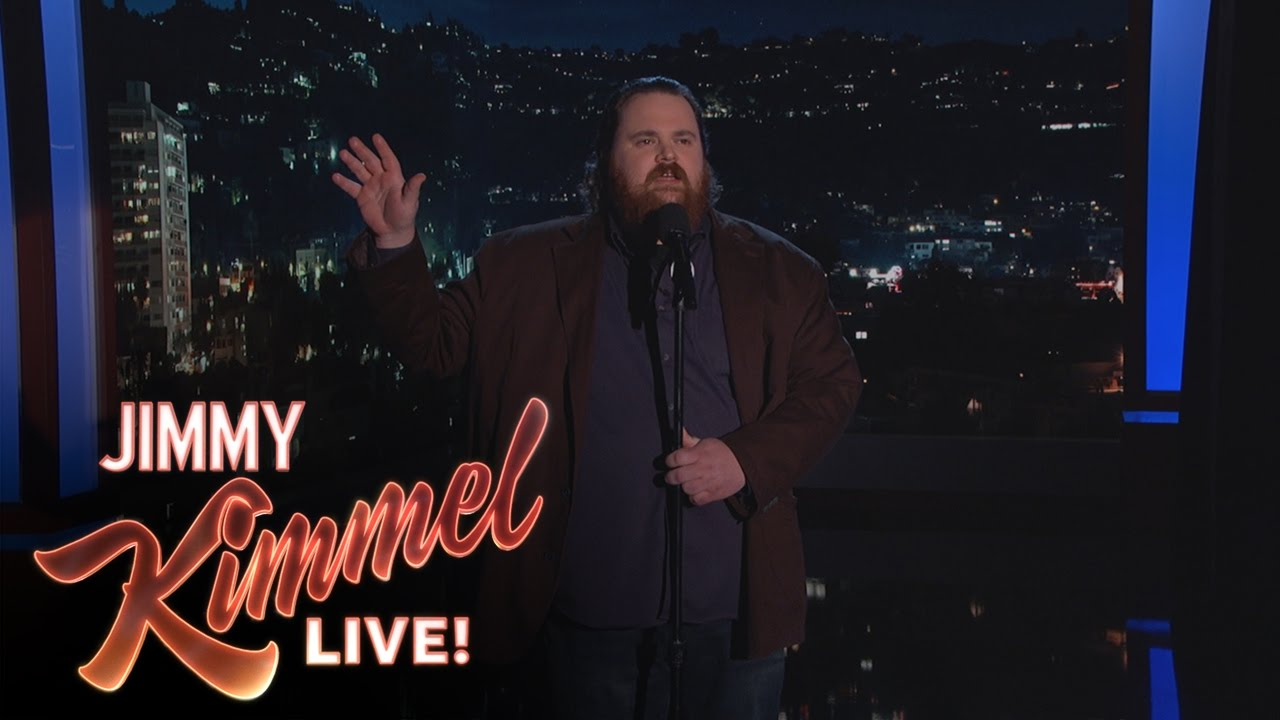 Comedian K. Trevor Wilson Performs Stand-up