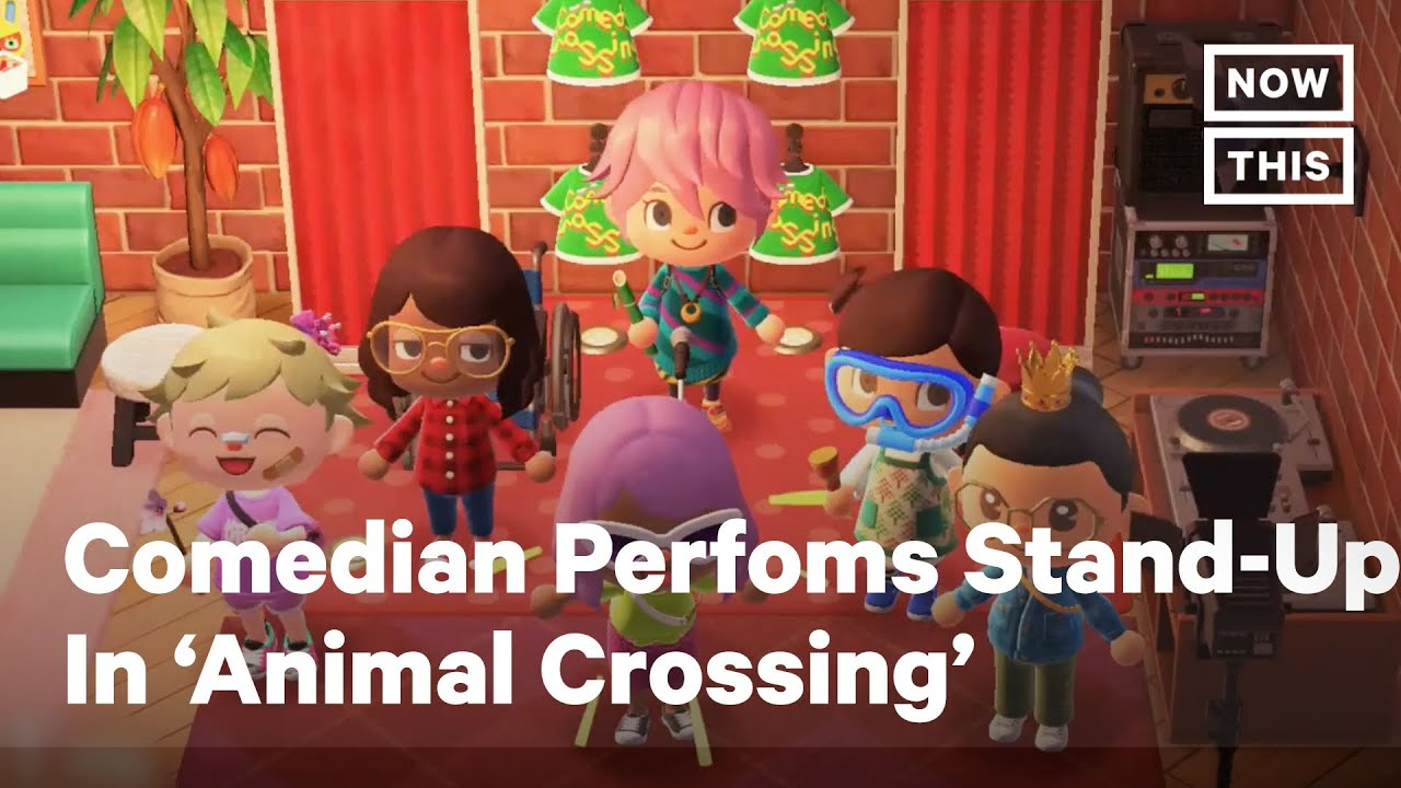 Comedian Performs Stand-Up in 'Animal Crossing' During COVID-19
