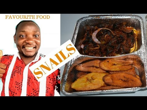 Cooking My Favourite Food – Snails Recipe (African Food)