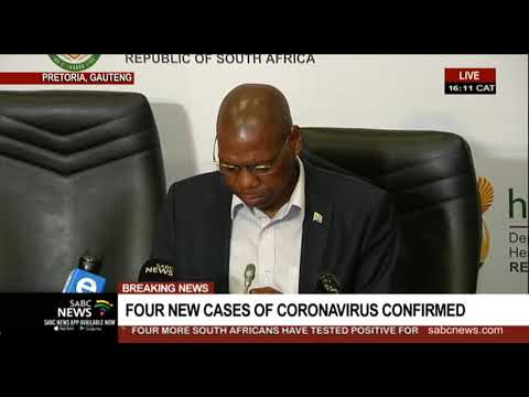 Coronavirus | Four more South Africans test positive to COVID-19