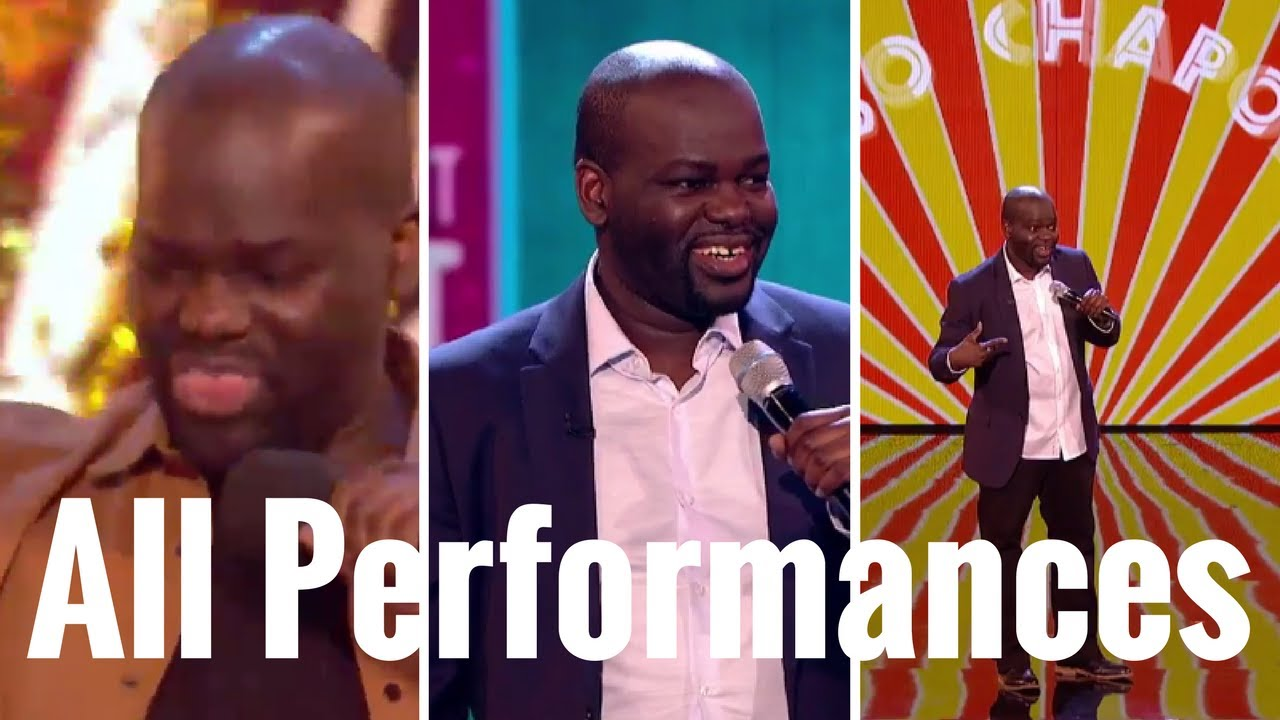 Daliso Chaponda All Performances – Britain Got Talent 2017 3rd