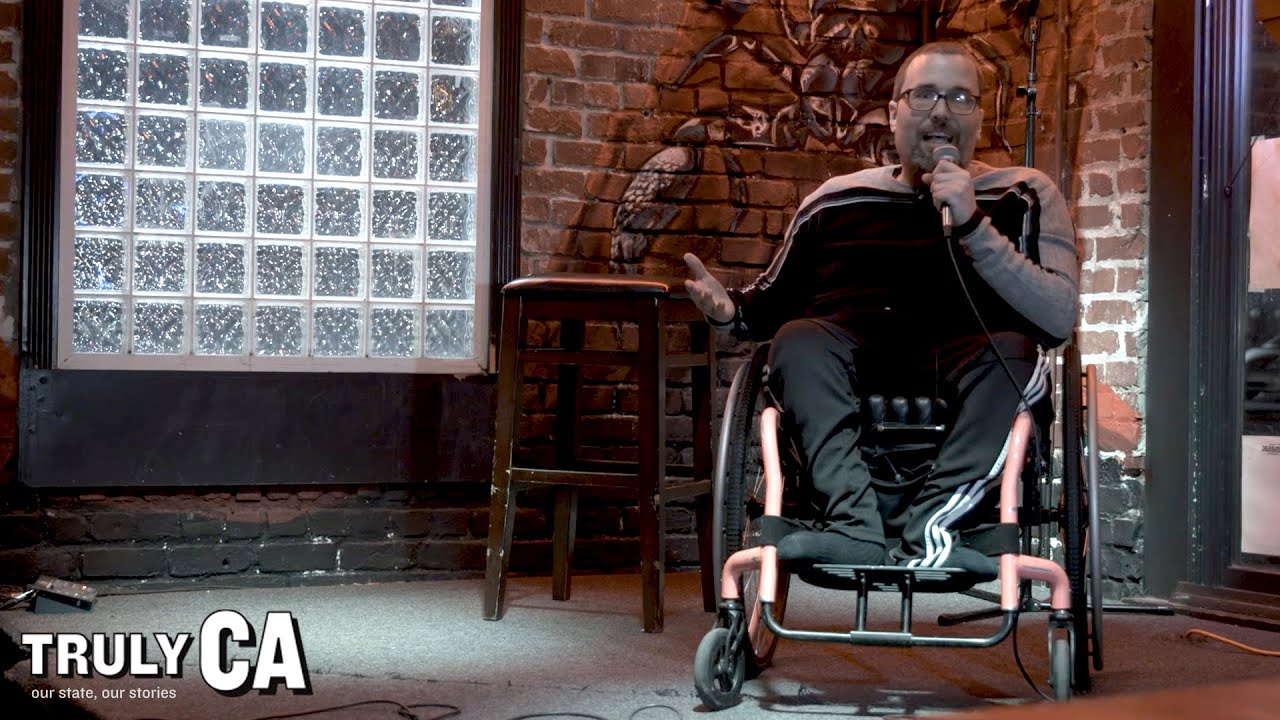 Dan The Can't Stand Up Comedian | KQED Arts