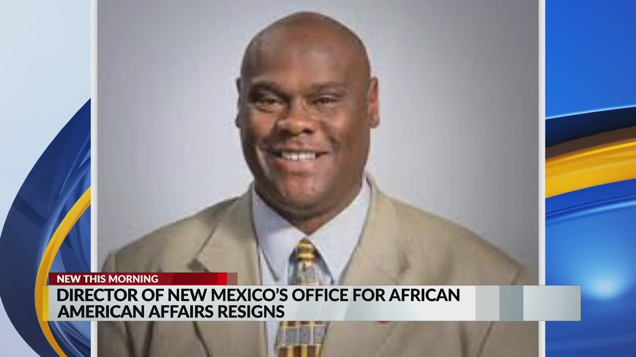 Director of New Mexico's Office of African American Affairs steps