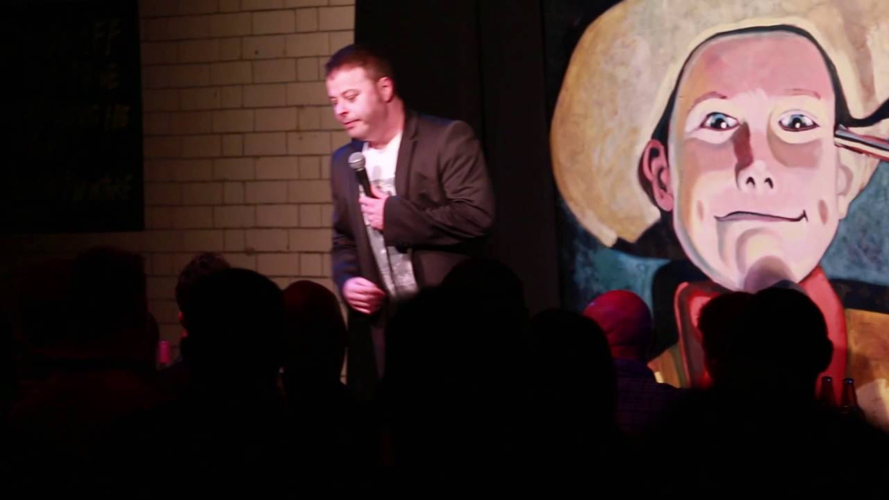 Dyslexic stand up comedian