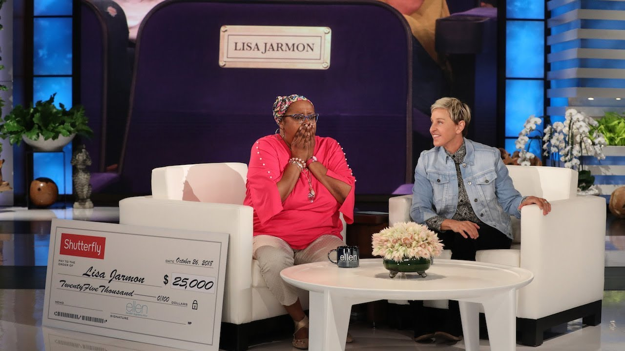 Ellen Pays Tribute to Beloved Guest Lisa Jarmon – EXTENDED