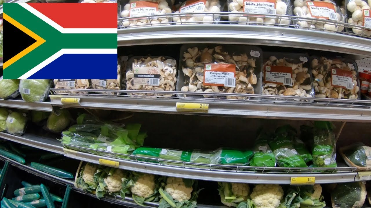 Exploring a grocery store in South Africa.(Wow look at these